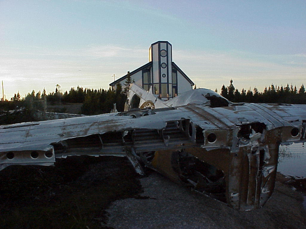 Plane Wreckage & Interpretation Centre